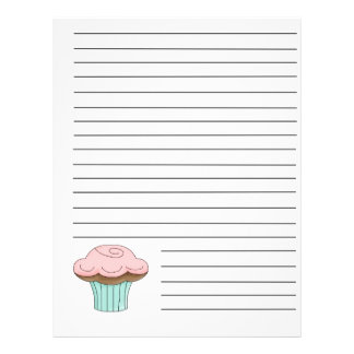 Cupcake Recipe Binder Pages