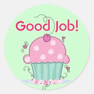 Cupcake Reward Stickers