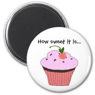 Cupcake Saying Magnet