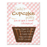 Cupcake Shaping Up Nicely 11 Cm X 14 Cm Invitation Card