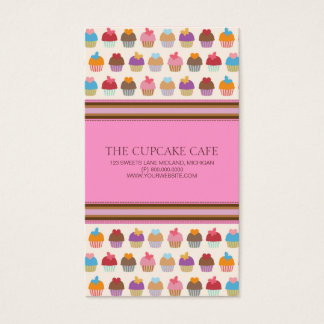 Cupcake Shop or Bakery Business Cards