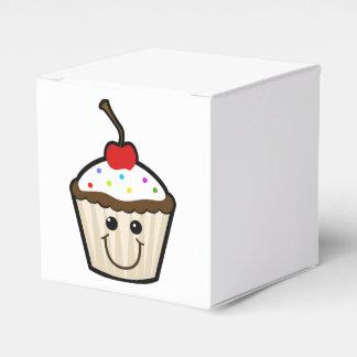 Cupcake Smile Face Favor Boxes
