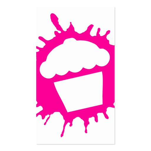 cupcake splatz business card templates