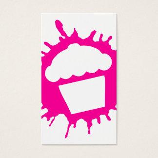 cupcake splatz business card