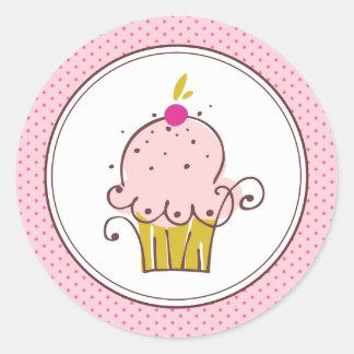 Cupcake Stickers