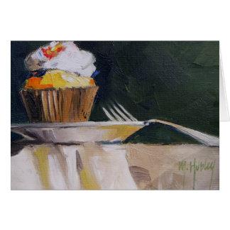 Cupcake Sweet Treat Pastry Dessert Card
