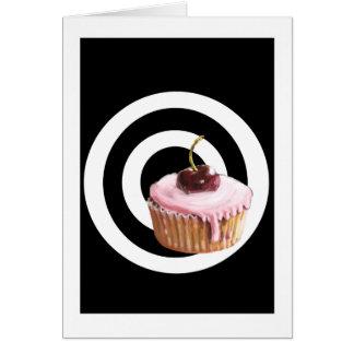 Cupcake Target  Greeting Card