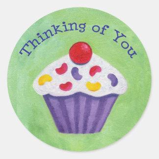 Cupcake Thinking of You sticker