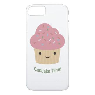 Cupcake Time! Cute Pink Cupcake iPhone 7 Case