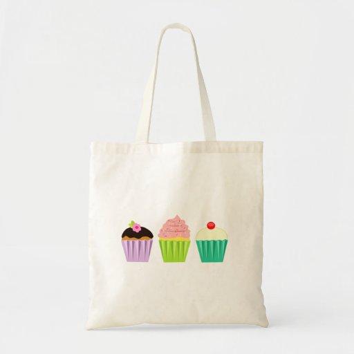 Cupcake Trio Tote Bag