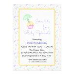 Cupcake, Umbrella, Baby Sprinkle Invitation