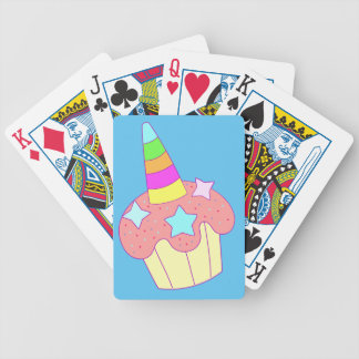 cupcake unicorn bicycle playing cards