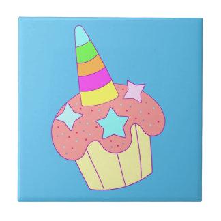 cupcake unicorn tile
