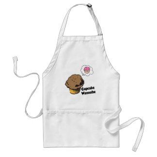 Cupcake Wannabe Muffin Apron