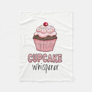 Cupcake Whisperer Fleece Blanket