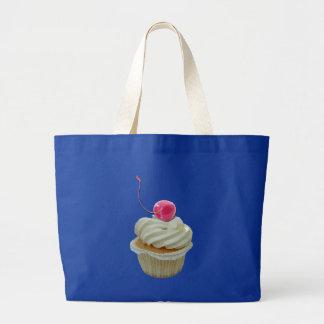 cupcake with cherry bag