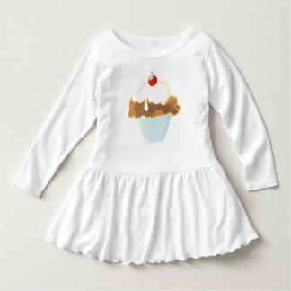 cupcake with cherry dress