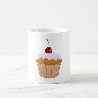 Cupcake With Cherry Coffee Mugs