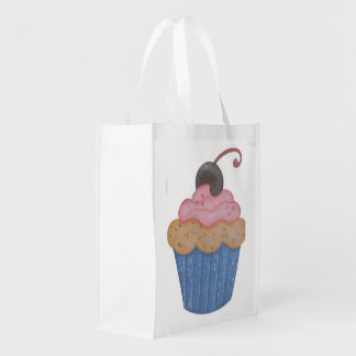 Cupcake Grocery Bags