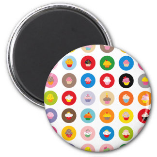 Cupcakes All Magnet