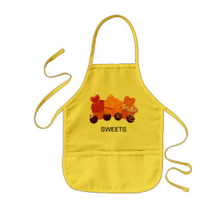 Cupcakes and chocolate Sweets Kids Apron