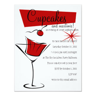 Cupcakes and Martinis! Card