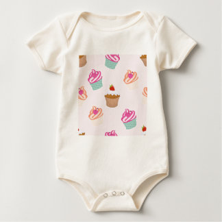 Cupcakes And Muffins Baby Bodysuit