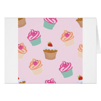 Cupcakes And Muffins Card