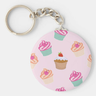 Cupcakes And Muffins Key Ring
