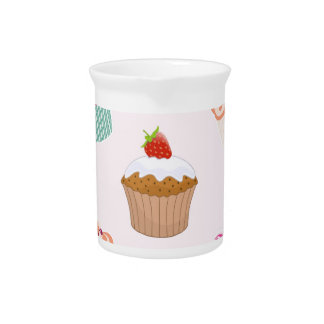 Cupcakes And Muffins Pitcher