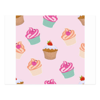 Cupcakes And Muffins Postcard