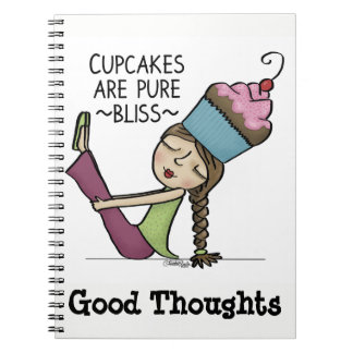 Cupcakes are Pure Bliss Notebooks