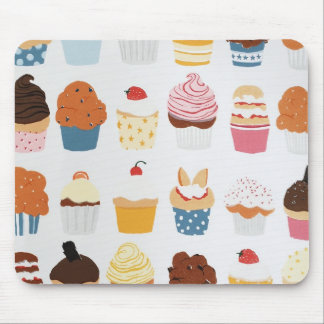 Cupcakes assortment mousepad