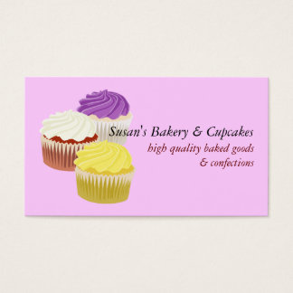 Cupcakes Business Cards