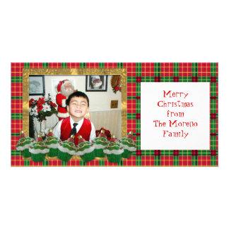 Cupcakes Christmas Photo Card