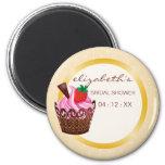 Cupcakes & Cocktails Bridal Shower Favour Magnet
