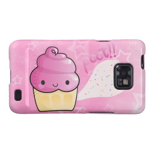 Cupcakes Fart Sprinkles Samsung Galaxy S2 Covers