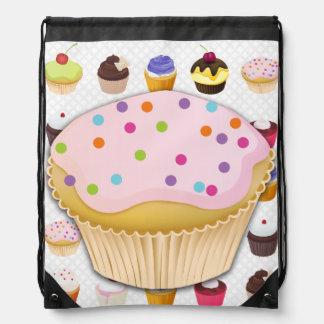 Cupcakes Galore - Drawstring Backpack5 Backpacks