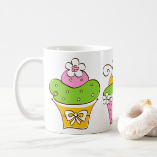 Cupcakes Hand Drawn Coffee Mug