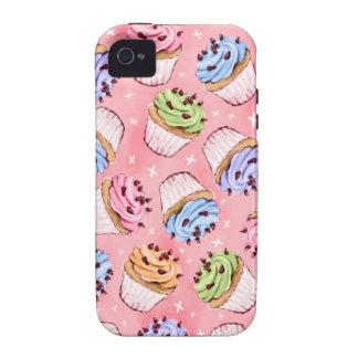 Cupcakes & Kisses iPhone 4 Case
