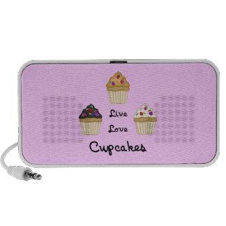 Cupcakes Live Love PC Speakers