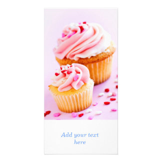 Cupcakes Photo Card
