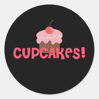 Cupcakes! Round Stickers