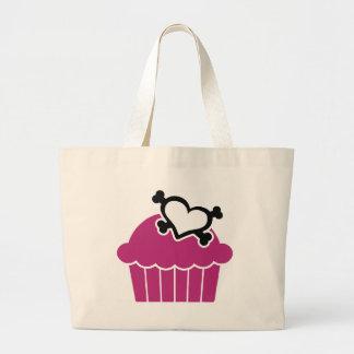 Cupcakes w/Heart Crossbones Bags