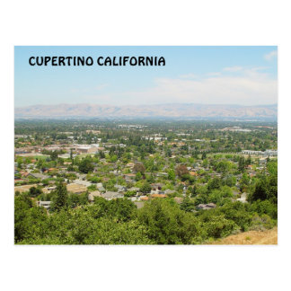 Cupertino California Postcard