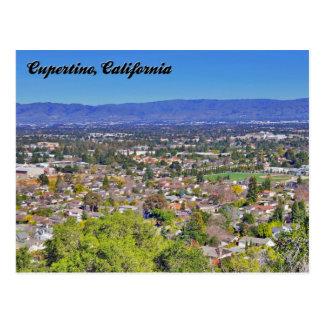Cupertino, California Postcard