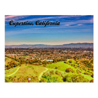 Cupertino, California Postcard 2013