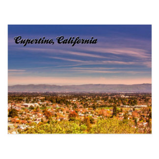 Cupertino, California Postcard 2013