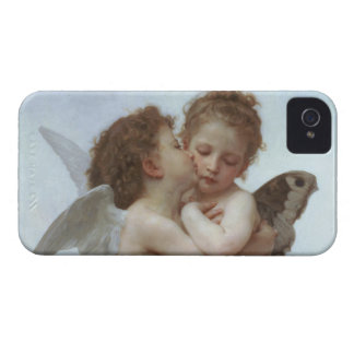 Cupid and Psyche as Children iPhone 4 Case-Mate Case
