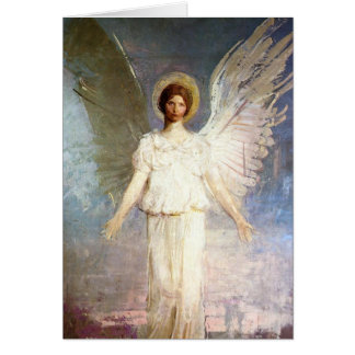 Cupid and Psyche Postage Greeting Card